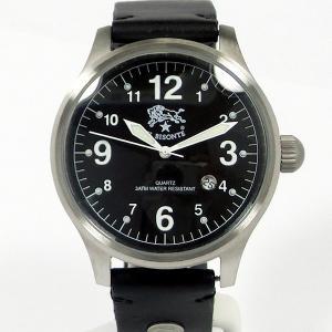 イルビゾンテ IL BISONTE メンズ 腕時計 H0252 135N ブラック/ブラックレザー 【新品アウトレット】|pre-ma