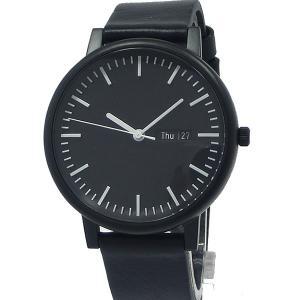イノベーター ソリ―ド カレンダー 40mm オールブラック IN-0003-3 Innovator メンズ 腕時計【アウトレット展示品】|pre-ma