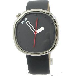 FILA フィラ 腕時計 38-162-002 ユニセックス 40mm グレーレザー 展示品アウトレットセール|pre-ma