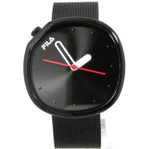 FILA フィラ 腕時計 38-162-202 ユニセックス 40mm ブラック メッシュステンレス 展示品アウトレットセール|pre-ma