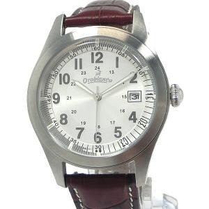 Orobianco TIMEORA オロビアンコ メンズ 腕時計 KAMBio OR-0030-21 NVRED 40mm レザー 替えベルト付 【アウトレット展示品】|pre-ma