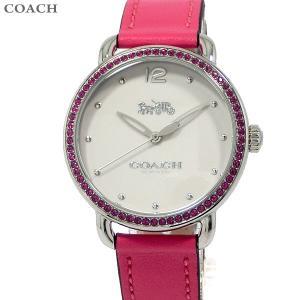 コーチ COACH  レディース 腕時計 デランシー 14502879  ピンク レザーベルト 36mm pre-ma