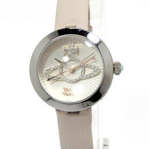 ヴィヴィアン ウエストウッド レディース腕時計 VV150WHCM Orb オーブ レザー VIVIENNE WESTWOOD ギフトバッグ付|pre-ma