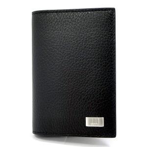 ダンヒル カードケース/名刺入れ L2R947A dunhill AVORITES  メンズ  ブラック Business Card Case|pre-ma