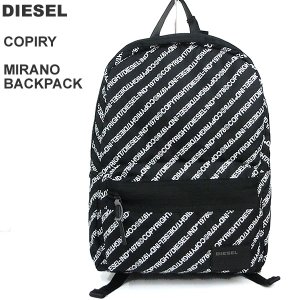 ディーゼル DIESEL リュック/ バックパック メンズ COPIRY MIRANO BACKPACK  X06264 PR390 T8013 ブラック|pre-ma