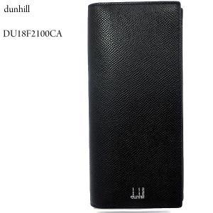 ダンヒル dunhill 長財布 CADOGAN メンズ  ブラック 二つ折り 小銭入れ付 カドガン 183307|pre-ma