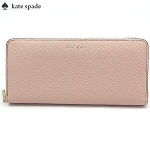 ケイトスペード KATE SPADE 長財布 ラウンドファスナー PWRU7100 959/Pale Vellum  Margaux Slim Continental Wallet|pre-ma