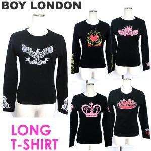 BOY LONDON 長袖 ロング Tシャツ ボーイロンドン レディース ユニセックス カットソー|pre-ma