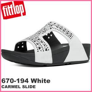 フィットフロップ  fit flop FITFLOP サンダル レディース  670-194 CARMEL SLIDE サイズ US6/23.5cm アーバンホワイト|pre-ma