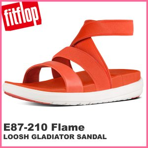 フィットフロップ  fit flop FITFLOP サンダル レディース  E87-210 LOOSH GLADIATOR SANDALS  FLAME|pre-ma