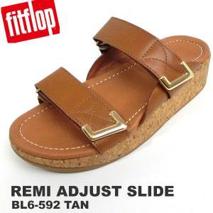 フィットフロップ  サンダル レディース fit flop FITFLOP REMI ADJUSTABLE SLIDES BL6-592 サイズ限定US6/23.5cm 新品アウトレットセール|pre-ma