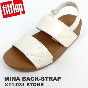 フィットフロップ  サンダル レディース fit flop FITFLOP MINA BACK-STRAP SANDALS X11-031 サイズ限定US5/22.5cm 新品アウトレット|pre-ma