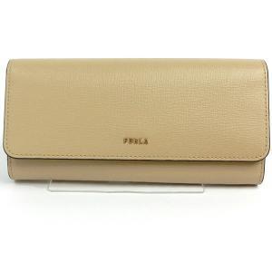 FURLA フルラ 長財布 二つ折り 新ロゴ BABYLON XL BI-FOLD / 1057071 PCY2 B30 02B SAND ベージュ系 185038|pre-ma