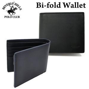 ビバリーヒルズポロクラブ 財布 ショート 二つ折り イタリア製本革レザー BHS-1003 BEVERLY HILLS POLO CLUB 型崩れ防止対策|pre-ma