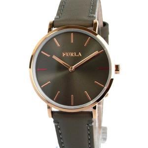 フルラ 腕時計 レディース 4251108529 33mm  FURLA GIADA PG/グレイッシュ レザー  展示用 アウトレット|pre-ma