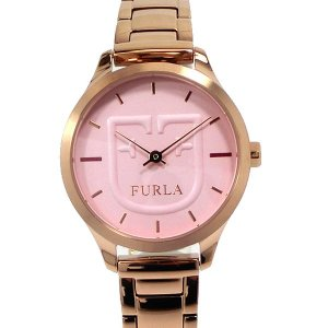 フルラ 腕時計 レディース 4253125503 FURLA LIKE scudo 32mm ローズゴールド ピンクフェイス 展示用 アウトレット特価|pre-ma