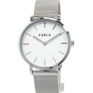 フルラ 腕時計 レディース 4253108518 33mm  FURLA GIADA ホワイト メッシュステンレス  展示用 アウトレット|pre-ma