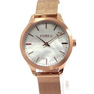 フルラ 腕時計 レディース 4253119505  FURLA LIKE 32mm ローズゴールド メッシュステンレス 展示用 アウトレット特価|pre-ma