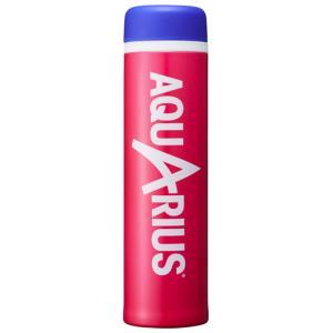 アクエリアス スリムマグボトル 400ml 保温保冷 AQUARIUS DASB400PK ピンク|pre-ma