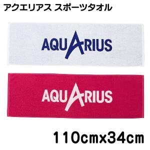 アクエリアス 抗菌防臭 タオル スポーツタオル 34cm x 110cm 綿100% AQUARIUS DAST|pre-ma