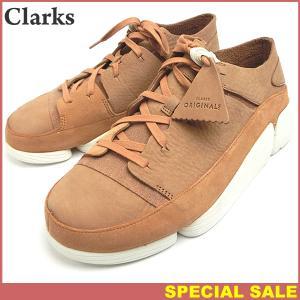クラークス Clarks Originals Trigenic evo トライジェニック メンズ スニーカー  現品限り EU42/UK8/26.5cm SANDSTONE NUBUCK|pre-ma