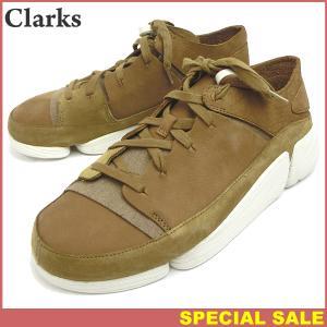 クラークス Clarks Originals Trigenic evo トライジェニック メンズ スニーカー  現品限り EU42/UK8/26.5cm OAK NUBUCK|pre-ma