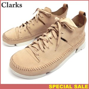 クラークス Clarks Originals Trigenic Flex トライジェニック フレックス メンズ スニーカー 現品限り EU42/UK8/26cm NATURAL NUBUCK|pre-ma