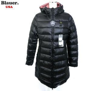 Blauer USA ブラウアー レディース ダウン ジャケット ロングコート 19WBLDK03009 005050 999 ブラック|pre-ma