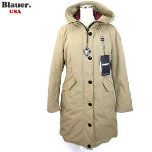 Blauer USA ブラウアー レディース ダウン ジャケット ロングコート トレンチ 19WBLDK03195 005553 329|pre-ma