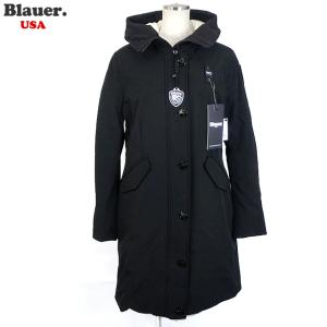 Blauer USA ブラウアー レディース ダウン ジャケット ロングコート トレンチ 19WBLDK03195 005553 999 ブラック BX47|pre-ma