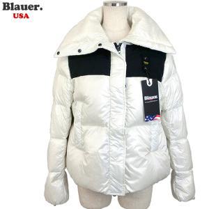 Blauer USA ブラウアー レディース ダウン ジャケット ショート 18WBLDC03040 005050 102 ホワイト X51|pre-ma