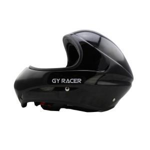 飛行のための快適なライナー付きグラスファイバースカイダイビングパラグライダーヘルメット Black ...