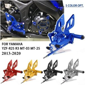YZF R-25 R-3 R25 R3 バイク バックステップ 取り付け おすすめ