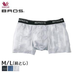 【B】メンズワコール ブロス スキニーボクサー 前閉じ ローライズ フィットパンツ(M・Lサイズ)GT3202 [m_b]の画像