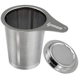 IPOW 茶漉し ティーストレーナー コーヒーフィルター 深型 マグ、カップ、ポット用 (片方)