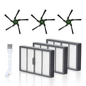 LANMU ロボット 掃除機 フィルター サイドブラシ for irobot roomba ルンバ ...
