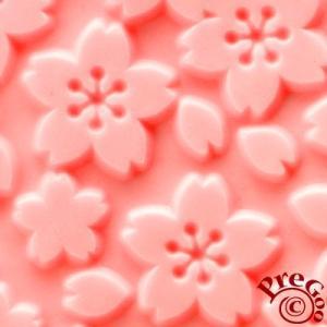シリコン テクスチャーシート / 桜のこころ    ( さくら 桜 )