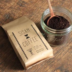 SISAM COFFEE 深煎 粉 200g