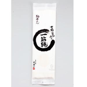 三輪山勝製麺   一筋縄 麦縄細平めん 170g