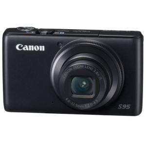 Canon PowerShot S95 ブラック ◆業界最長1年間の中古保証付き!全品送料無料!代引...