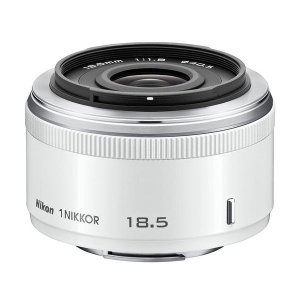中古 1年保証 美品 Nikon 1 18.5mm F1.8 ホワイト