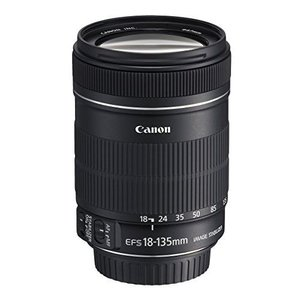 中古 1年保証 美品 Canon 標準ズームレンズ EF-S 18-135mm F3.5-5.6 IS