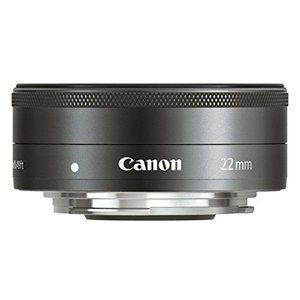 Canon EF-M 22mm F2 STM ブラック◆業界最長1年間の中古保証付き!全品送料無料!...