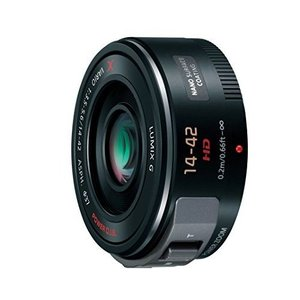 中古 1年保証 美品 Panasonic LUMIX VARIO PZ 14-42mm F3.5-5.6 H-PS14042-K