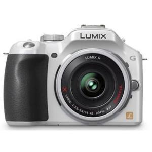 中古 1年保証 美品 Panasonic LUMIX G5 電動ズーム ホワイト