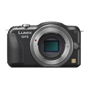 中古 1年保証 美品 Panasonic LUMIX GF5 ボディ ブラック