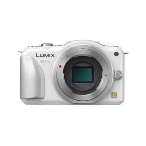中古 1年保証 美品 Panasonic LUMIX GF5 ボディ ホワイト