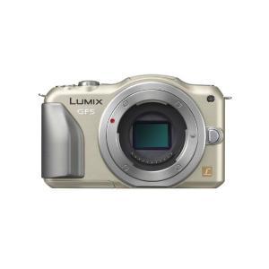 中古 1年保証 美品 Panasonic LUMIX GF5 ボディ ゴールド
