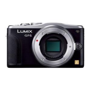 中古 1年保証 美品 Panasonic LUMIX GF6 ボディ ブラック