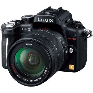 Panasonic LUMIX DMC-GH2H レンズキット ブラック ◆業界最長1年間の中古保証...